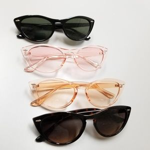 Accessories - Keyhole Cat Eye Sunglasses